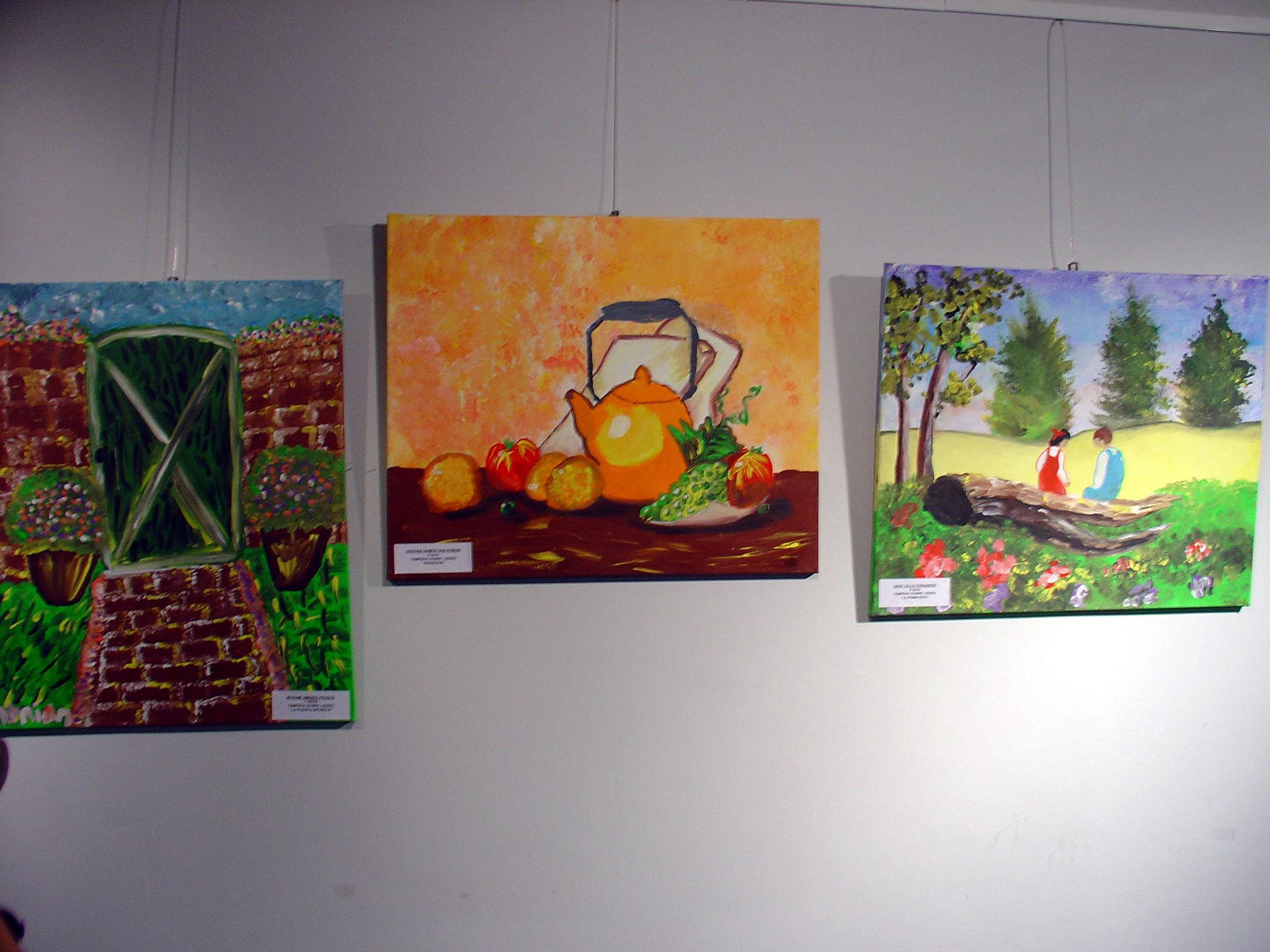 Estas viendo imágenes de: Exposición Pintura 2012